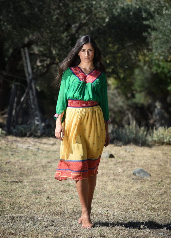 Meandros tunic